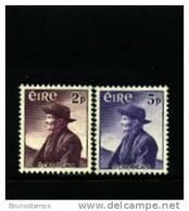 IRELAND/EIRE - 1957 THOMAS  O'CROHAN  SET  MINT NH - 1949-... Repubblica D'Irlanda