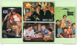 New Zealand - 1998 Classic TV Programs Set (4) - NZ-P-140/3
