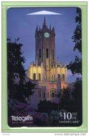 NZ - 1996 Turrets & Towers - $10 Auckland University  - NZ-P-89 - Mint