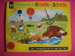 BD - 066 - Sylvain Et Sylvette - N° 11 - Les Compères Ont Le Mal De L'air - 1968 - Fleurette - Sylvain Et Sylvette