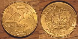 Pièce 25 Centavos 2007 Brésil - Brasilien