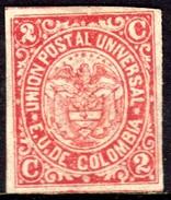 03786 Colômbia 72 Brasão Nn - Colombia