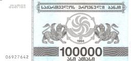 GEORGIE   100,000 (Laris)   1994   P. 48Ab   UNC - Géorgie