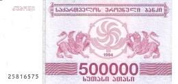 GEORGIE   500,000 (Laris)   1994   P. 51   UNC - Géorgie