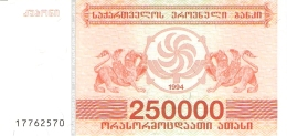 GEORGIE   250,000 (Laris)   1994   P. 50   UNC - Géorgie