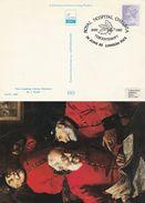 1982 ROYAL  HOSPITAL CHELSEA Tecentenary EVENT COVER Card GB Stamps Medicine Health Military Oak Leaves Acorn Tree - Medicine