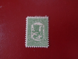 Finlande 1918 N°83 Neuf* (charnière)