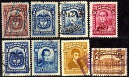 03894 Colômbia 243/50 Brasão Bolivar U - Colombia