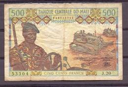 Mali 500 Fr   P 12 Fine - Banknotes