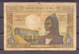Mali 1000 Fr   P ??  Fine - Billets