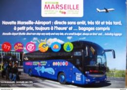 Marseille Navette Aéroport Bus Autocar Iveco Magelys - Cartes Postales