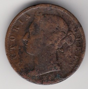 @Y@    Straits Settlements   1/2 Cent  1884    (4907 ) - India