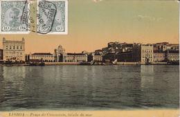 CPA  LISBONNE (Portugal).  Praça Do Commercio, Tirada Do Mar ...E898 - Lisboa