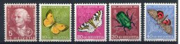 2093  -  SUISSE  N° 597/01 **  Série  Pro   Juventute     1957      LUXE - Switzerland