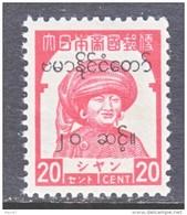 JAPANESE  OCCUPATION  BURMA  2N 63   ** - Burma (...-1947)