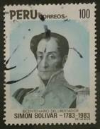 PERÚ 1983 II Centenario Del Nacimiento De Simon Bolívar, 1783-1830. USADO - USED. - Perú