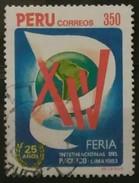 PERÚ 1983 Feria Internacional Del Pacífico. Lima. USADO - USED. - Peru