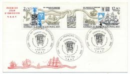 TAAF - Enveloppe FDC - XXXeme Anniversaire De La Création Du Territoire - Port Aux Français Kerguelen - 6/08/1985 - FDC