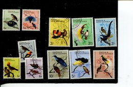 (987 - 27-03-2017) Selection Used Papua New Guinea Birds Stamps - Papouasie-Nouvelle-Guinée
