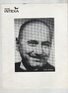Jean Nohain Dédicace Publicité Tricots Intexa Rare - Autographes