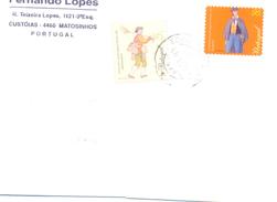 1999. Portugal, The Letter Sent By Ordinary Post To Moldova - 1910-... República