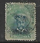 Southern Rhodesia / B.S.A.Co 1913,  5/=, Die II, Perf 14 Used, Multiple Faults - Southern Rhodesia (...-1964)