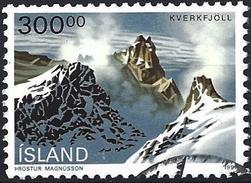 Iceland 1991 - Volcano Kverkfjöll ( Mi 741 - YT 694 ) - Usati