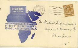 G.B. / Airmail / Imperial Airways / Khartoum. - 1902-1951 (Kings)