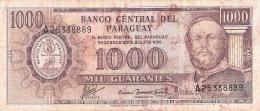 PARAGUAY   1000 Guaranies   (1982)   TDLR   P. 207 - Paraguay