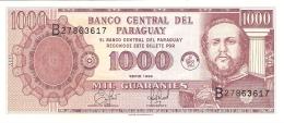 PARAGUAY   1000 Guaranies   1998   Ciccone Calcografica S.A   P. 214a   UNC - Paraguay