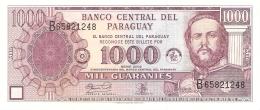 PARAGUAY   1000 Guaranies   2002   F - CO   P. 221   UNC - Paraguay