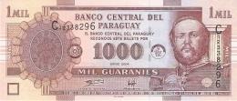 PARAGUAY   1000 Guaranies   2004   DLR   P. 222a   UNC - Paraguay