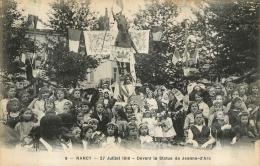 NANCY  1919 DEVANT LA STATUE DE JEANNE D'ARC - Nancy