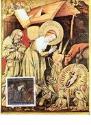 """BRD Maximumkarte Freimarken """"Weihnachten 1986"""" Mi 1303 ESSt 13.11.1986 BONN 1"""