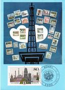 """BRD Maximumkarte Freimarken 750 Jahre Berlin"""" Mi 1306 ESSt 15.1.1987 BONN 1"""