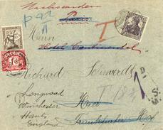 G.B. / Hampshire / Tax / Germany / France / Redirected Mail. - Sin Clasificación