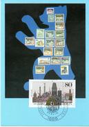 "BRD Maximumkarte Freimarken 750 Jahre Berlin"" Mi 1306 ESSt 15.1.1987 BERLIN 12"
