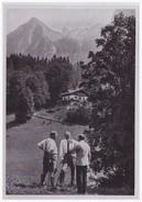 DT- Reich (000384) Propaganda Sammelbild Adolf Hitler Bild 39, Spaziergang Auf Dem Obersalzberg - Briefe U. Dokumente