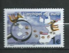 """St. Pierre Et Miquelon 2002 """"The Archipelago And The Euro"""".MNH - St.Pierre & Miquelon"""