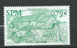 St. Pierre Et Miquelon 2002 Farmhouses.Architecture/Buildings/Houses.MNH - St.Pierre & Miquelon