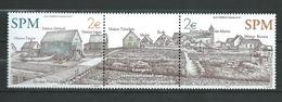 St. Pierre Et Miquelon 2003 Local Motives.Pair + Vignette.MNH - St.Pierre & Miquelon
