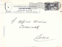 £5 STAMPE CSAPPINI OFFICINE O.L.A.M. MILANO - 6. 1946-.. Repubblica