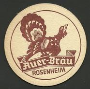 Bierdeckel Deutschland Auer-Bräu Rosenheim - Beer Mats