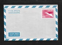 ISRAEL AEROGRAMME LF 21 - Poste Aérienne