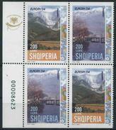 2004 Europa C.E.P.T., Albania Da Libretto, Serie Completa Nuova (**) - Europa-CEPT