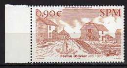 St. Pierre Et Miquelon 2004 Rural Architecture.MNH - St.Pierre & Miquelon