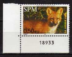 St. Pierre Et Miquelon 2004 Animals.Fauna.Mammals.Foxes.MNH - St.Pierre & Miquelon