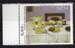 """St. Pierre Et Miquelon 2004 Paintings.""""Bread, Butter And Poor Cod"""" - Francine Langlois.Art/Paintings.MNH - St.Pierre & Miquelon"""