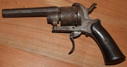 Pistolet, A Broche Bon état Général Calibre 6,5/6,75 ? - Sammlerwaffen
