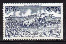 St. Pierre Et Miquelon  2005 Shipwrecks.Ships.MNH - St.Pierre & Miquelon